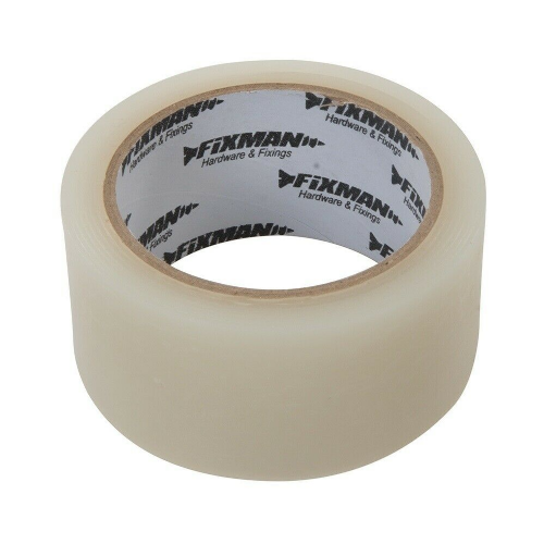 Fixman 192545 All Weather Tape 50mm x 25m Clear